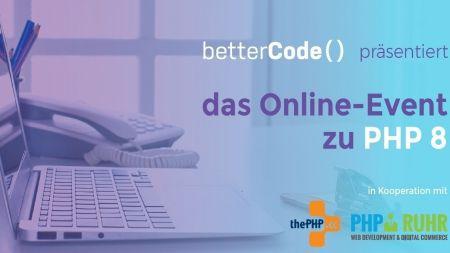 heise-Angebot: betterCode() PHP 8 bietet jetzt auch Workshops an