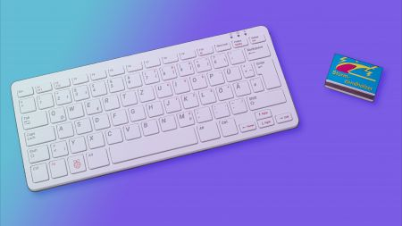 heise+ | Raspberry Pi 400 im Test: Kleiner Computer für Einsteiger und Bastler