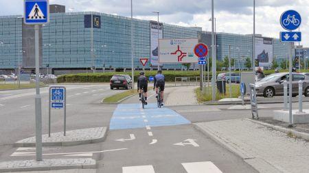ADFC setzt sich für Anbindung des Flughafens BER ans Radverkehrsnetz ein