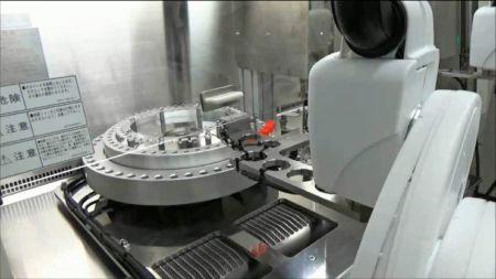 Roboter im Rachenraum