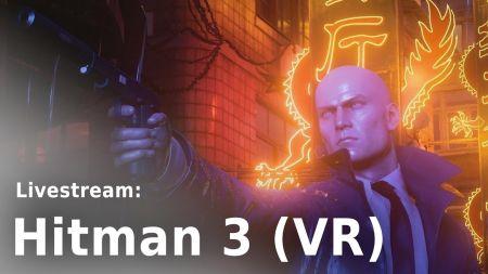 """heise spielt """"Hitman 3"""": Mit und ohne VR ab 18 Uhr im Livestream"""