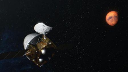 Tianwen-1: Chinas Marssonde erreicht geplanten Park-Orbit