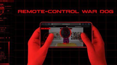Kunst oder Unfug: Roboterhund Spot mit Paintball-Waffe im Livestream
