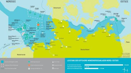 Windenergie: Bundesnetzagentur schreibt Offshore-Flächen aus