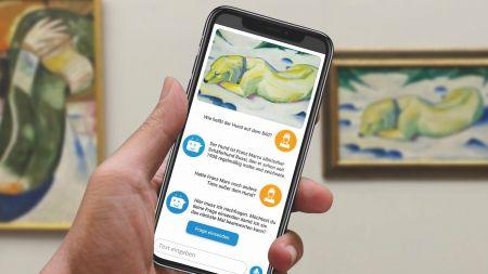 Chatbot statt Museumsführer