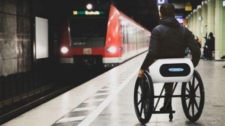 """Der """"Rollstuhl 2.0"""" soll noch kleiner werden"""