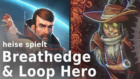 """heise spielt """"Breathedge"""" und """"Loop Hero"""": Sensationelles Überleben"""