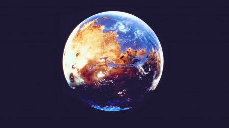 Hintergrund: Wo das verlorene Wasser des Mars vermutlich liegt
