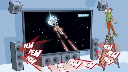 heise+ | 3D-Audiostreaming: Wie Auro-3D und DTS:X gegenüber Dolby Atmos aufholen wollen