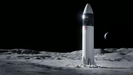 Nasa entscheidet: SpaceX soll die Mondlandefähre für Artemis-Mission 2024 bauen