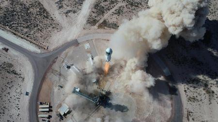 Restplatz ins All: Blue Origin versteigert Raumflug