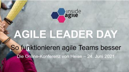 heise-Angebot: Agile Leader Day: Mit Diana Larsen das Führen agiler Teams erkunden
