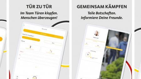 CDU, CSU und Volkspartei: Wahlkampf-Apps gaben persönliche Daten preis