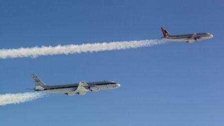 """""""Klimafreundlichere Luftfahrt"""": Kraftstoffe können Kondensstreifen reduzieren"""