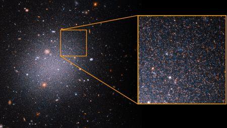 """Galaxie ohne Dunkle Materie: Neue Messungen vertiefen das """"komplette Rätsel"""""""
