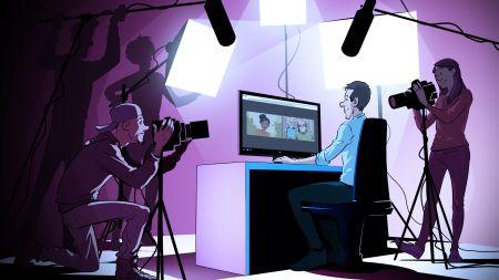 heise+ | Professionelles Videostreaming mit einfachen Mitteln zuhause umsetzen