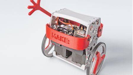 heise+ | Zweirad-Roboter aus dem Bausatz: B-Robot EVO 2