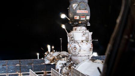 Nach anfänglicher Panne: Kosmonauten betreten neues ISS-Labor