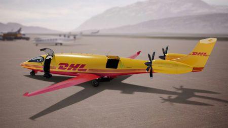 DHL plant elektrisches Luftracht-Netzwerk und kauft erste E-Frachtflieger