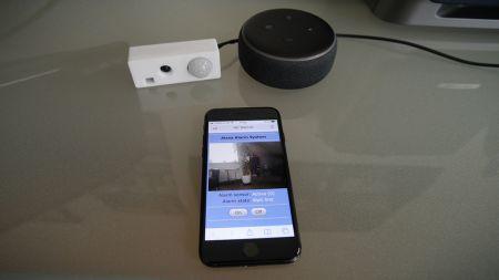 heise+ | Smartes Alarmsystem: ESP32-CAM mit Alexa-App oder Web-Interface steuern