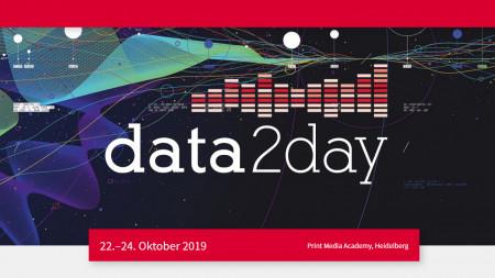 data2day 2019: Programm online – Registrierung eröffnet