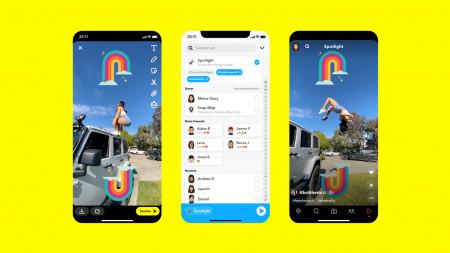 Spotlight: Snapchat startet TikTok für Snaps