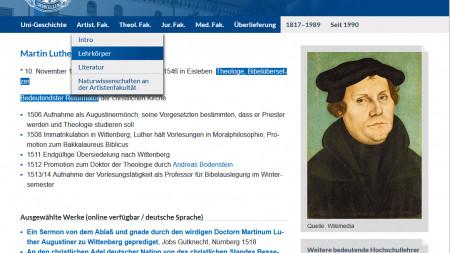 Uni Wittenberg geht 204 Jahre nach Schließung online