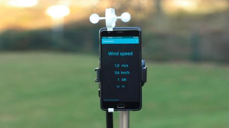 heise+ | Basteln mit 3D-Drucker und Smartphone-App: Günstigen Windmesser fürs Handy bauen