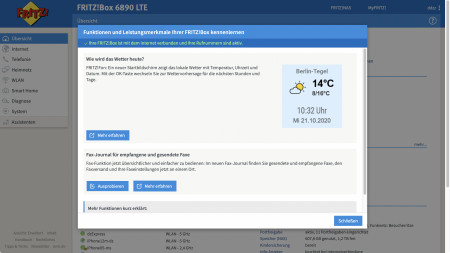 Update für Fritzboxen: FritzOS 7.25 mit Fokus auf Homeoffice und Bugfixes