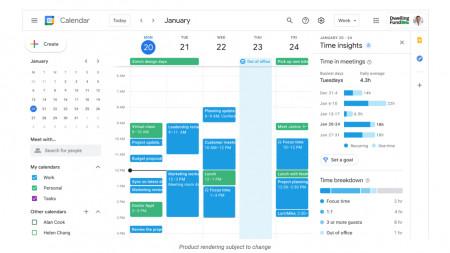 Google Workspace mit Standort, Arbeitszeiten und Frontline-Version