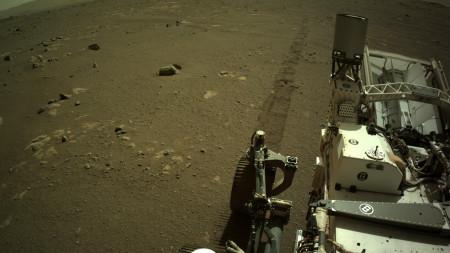 """Mars-Rover Perseverance: Erste Fahrt am """"Octavia E. Butler Landing"""" geglückt"""