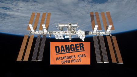 Zweites Leck der Internationalen Raumstation wird jetzt abgedichtet