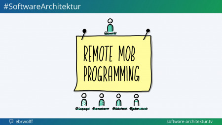 software-architektur.tv, Folge 55: Remote Mob Programming