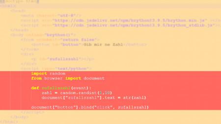 heise+ | Python im Browser verwenden: Einführung in Brython