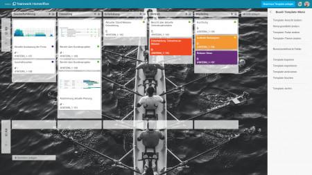 Projektmanagement von Planta: Stets einheitliche Kanban-Boards mit Vorlagen