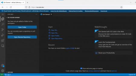 Visual Studio Code läuft ab sofort im Browser