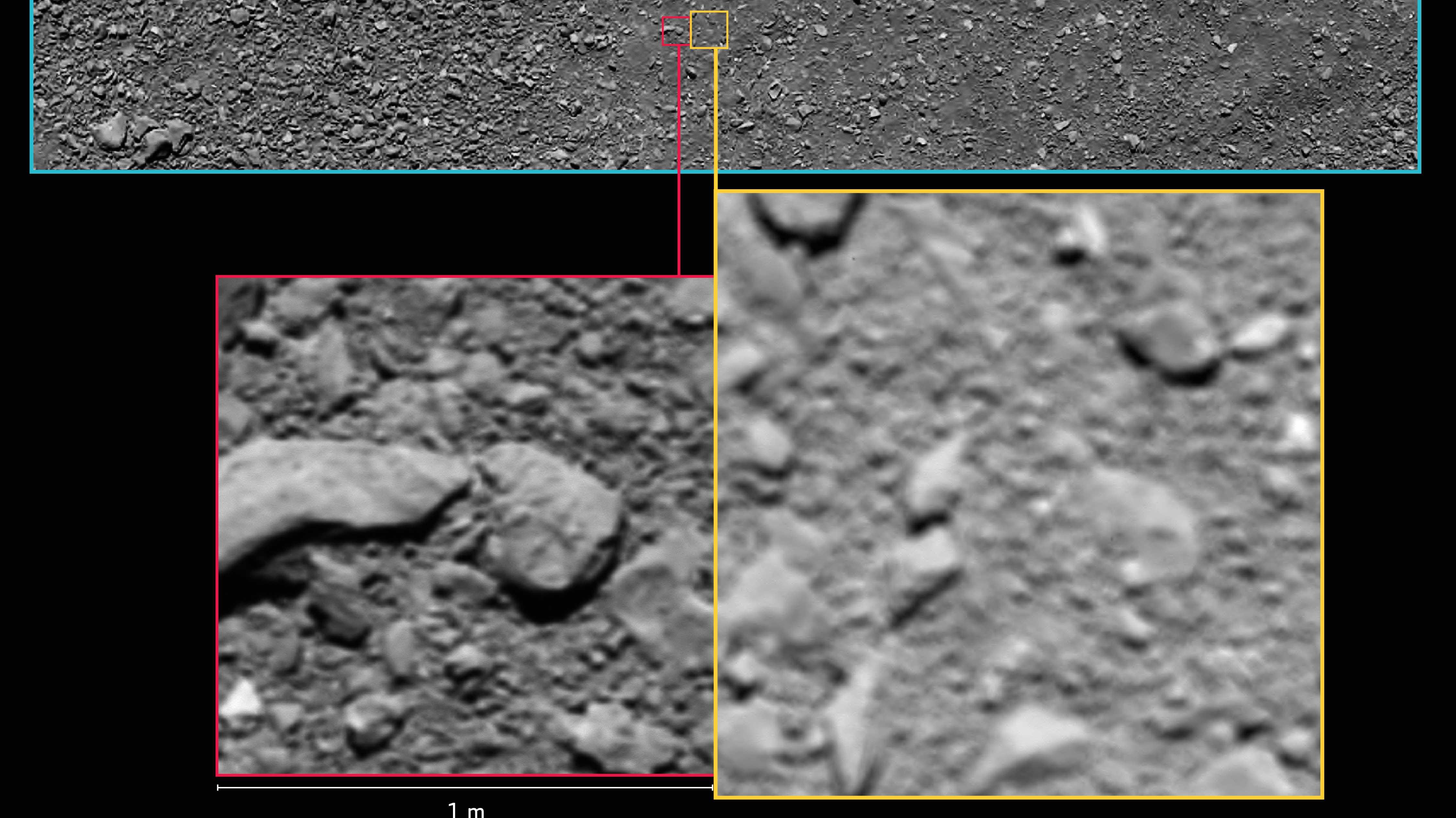 ESA-Sonde Rosetta: Überraschend allerletztes Foto vor Landung gefunden