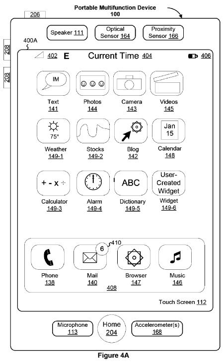 "Das ""tragbare Multifunktionsgerät"" aus Apples Patentschrift"