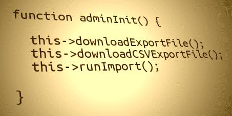 Admin-Funktionen