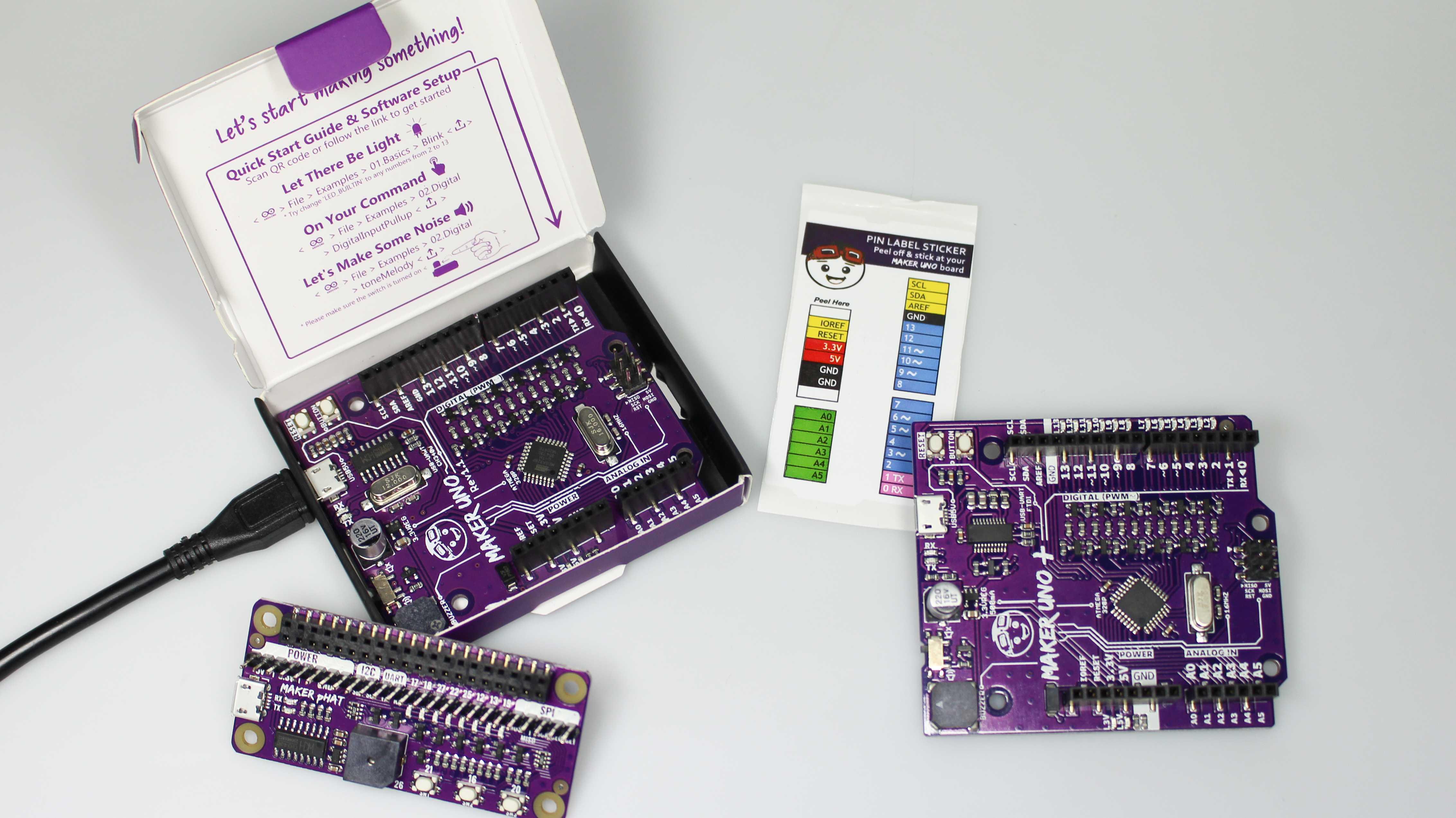 Maker-Uno-Boards von Cytron.