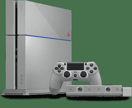 Die graue Version der PS4 soll nicht in den Handel kommen. Die auf 12300 Stück limitierte Sonder-Edition soll als Preis für Gewinnspiele und für Charity-Aktionen genutzt werden.