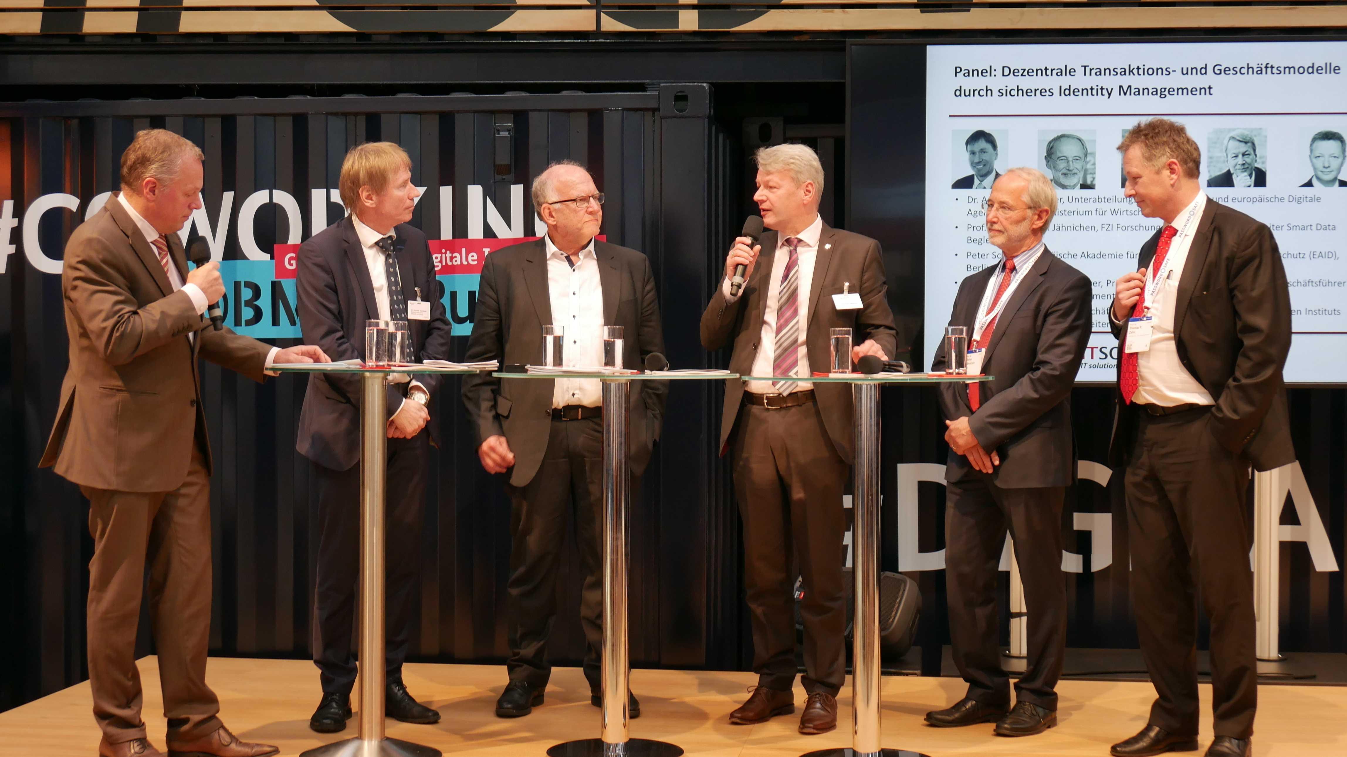 Ulrich Walter, Andreas Goerdeler, Peter Schaar, Peter Liggesmeyer, Stefan Jaehnichen, Thomas Zahn