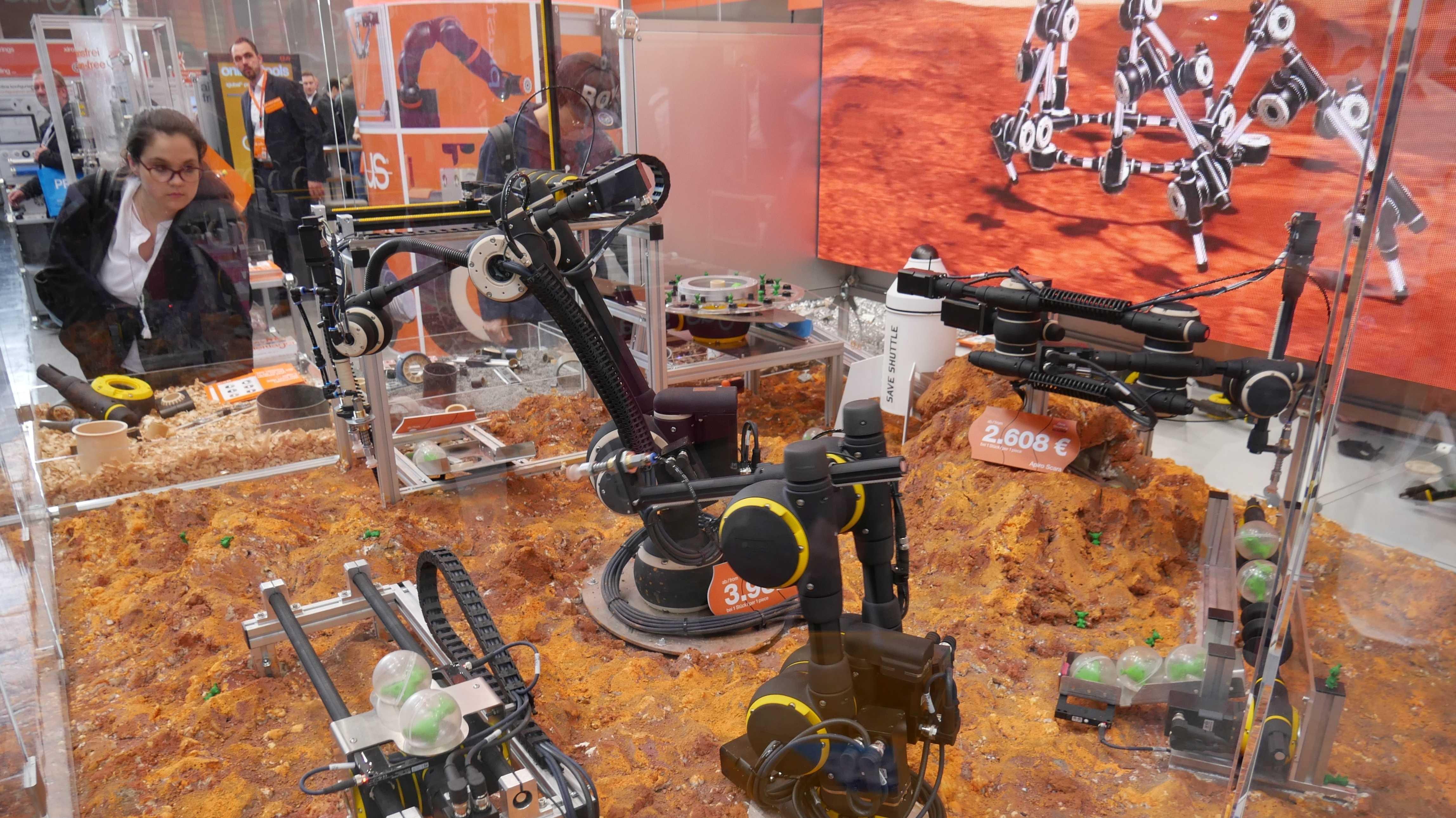 Module für jede Bewegung: neuer leichter Roboterbaukasten