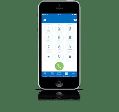 Fritzbox Fon soll das iPhone zum Festnetztelefon im heimischen WLAN machen.
