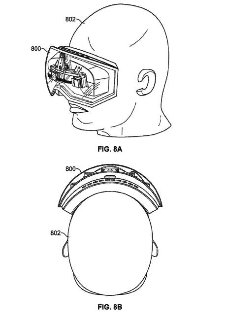 Die Datenbrille aus Apples neuem Patentantrag