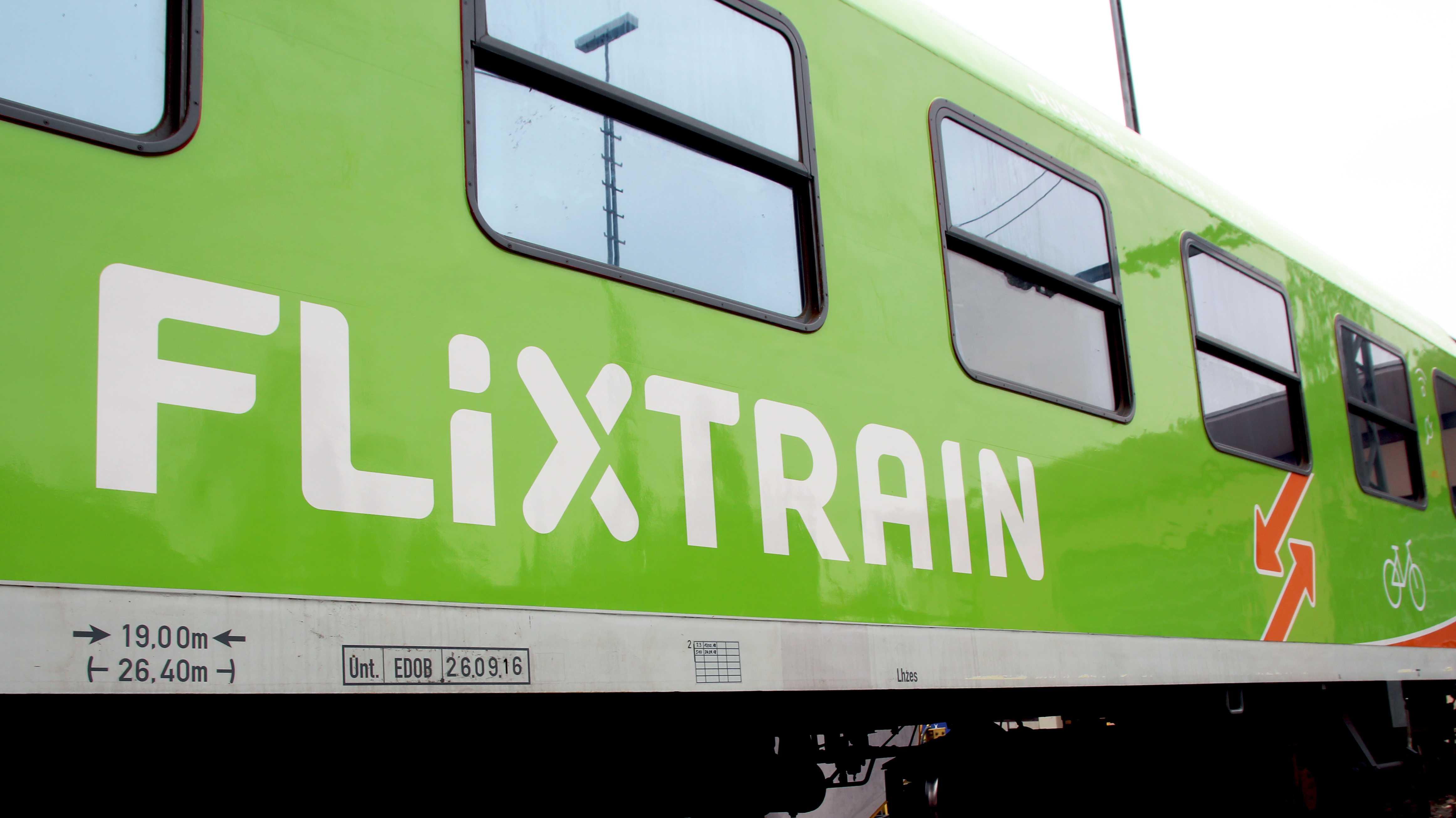 Bahnkonkurrent Flixtrain will mehr Züge fahren lassen