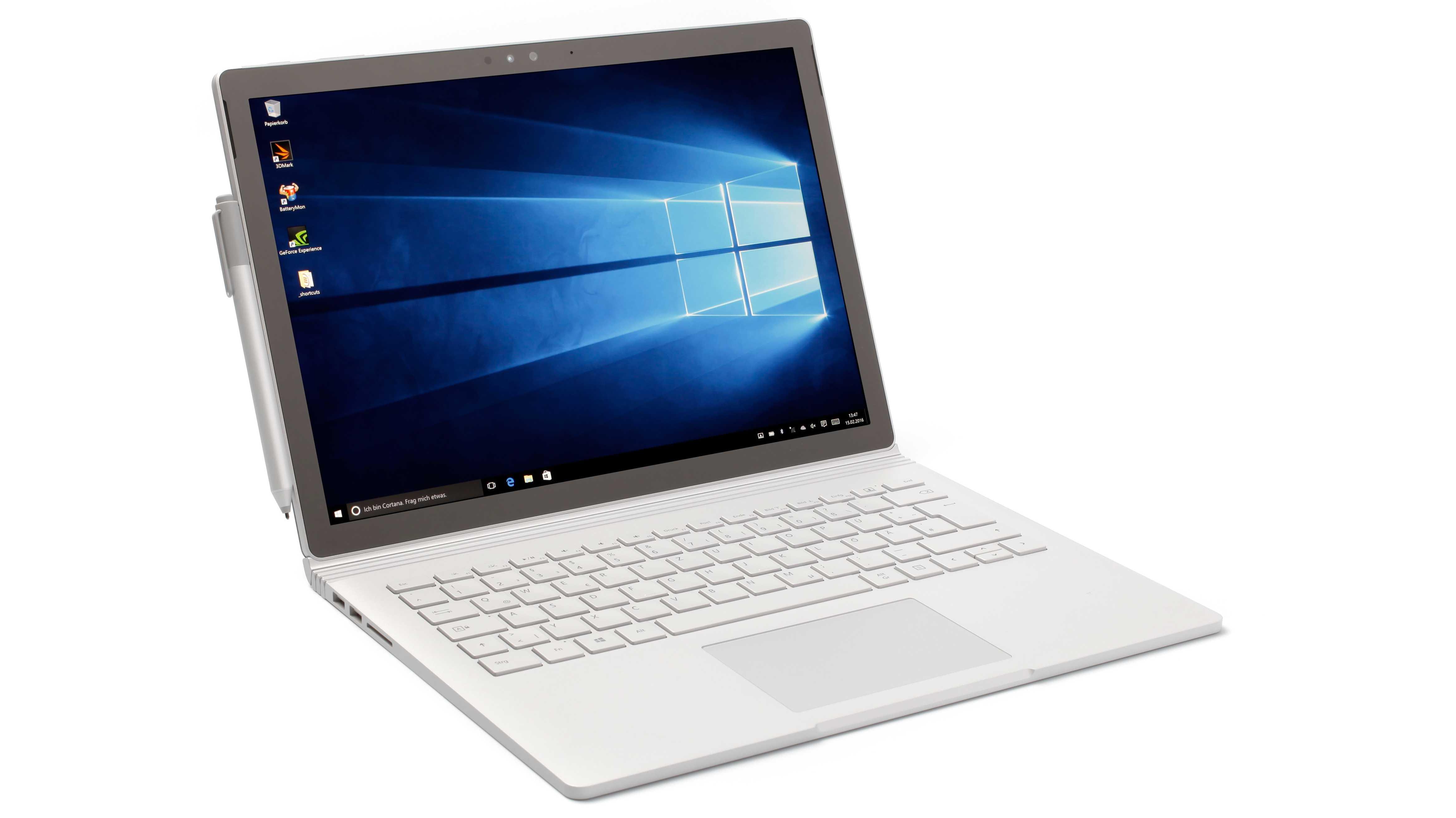 Microsoft Surface Book: Edel-Laptop und leichtes Tablet in eins