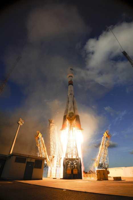 Der Start von Sentinel-1A