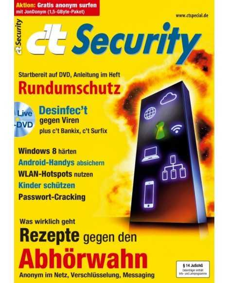 Sonderheft c't Security 2013