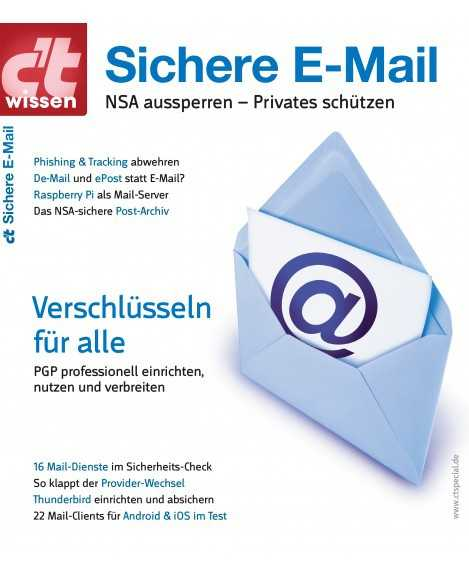 Titelbild c't wissen Sichere E-Mail